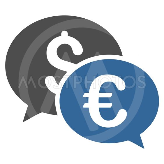 Currency Transactions Flat Vector Icon
