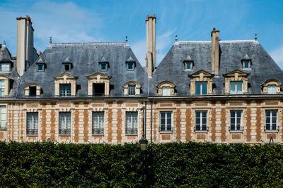 Houses in the Le Marais district of Paris