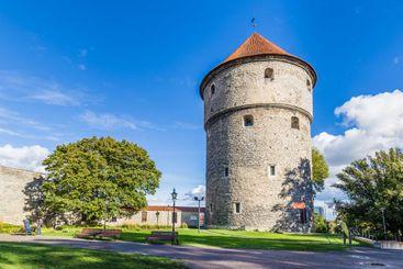 Fat Margaret canon Tower in Tallinn Estonia
