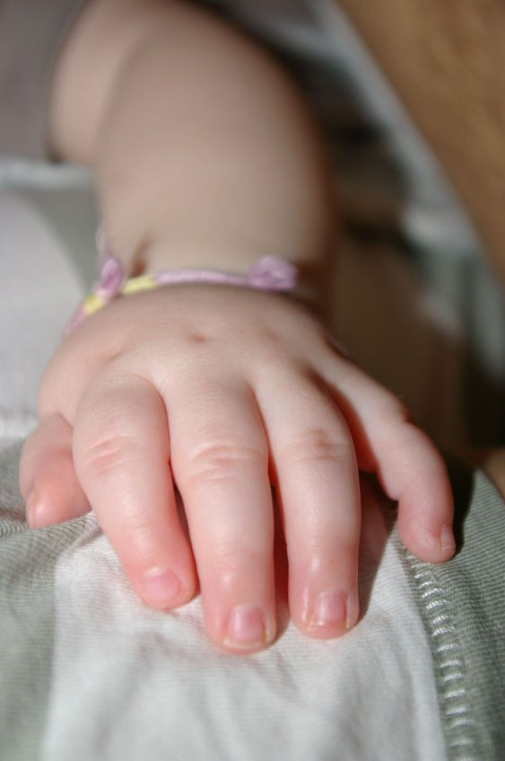 A child´s hand