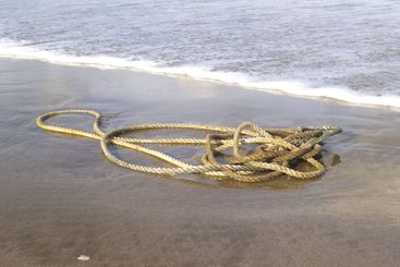 strings on the beach