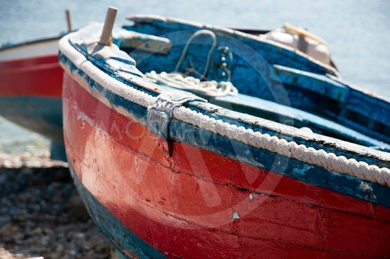 Båtar i strand 2