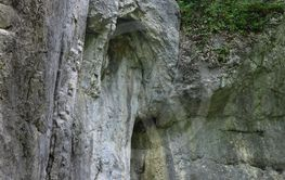 A cave called the Dziura in Poland
