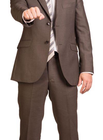 Fist businessman