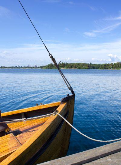 Boat At Landing