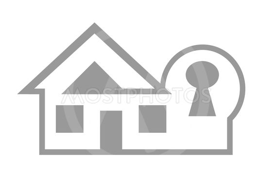 Home security web icon