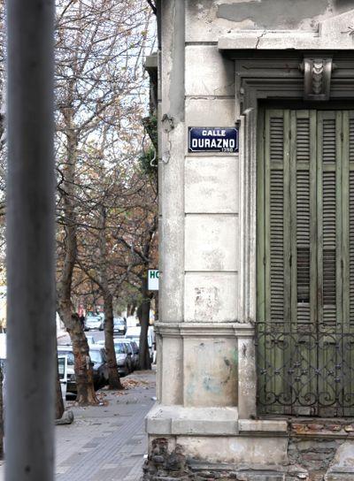 Durazno street in Palermo - Montevideo