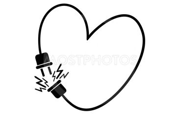 Heart for Valentine's day.