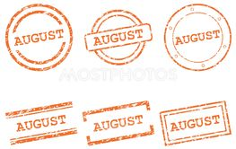 August stamps