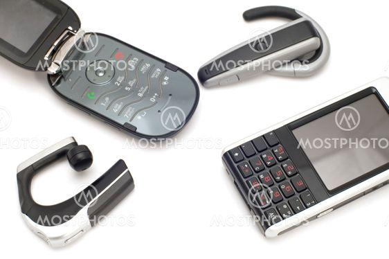 mobiltelefoner med hovedtelefoner