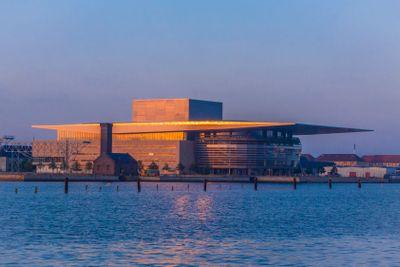 The operahouse of Copenhagen
