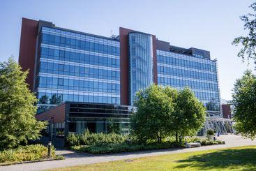 ESPOO, FINLAND - 03-07-2021: Nokia Company headquarter...