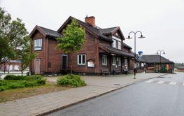 Storuman, Järnvägsstation