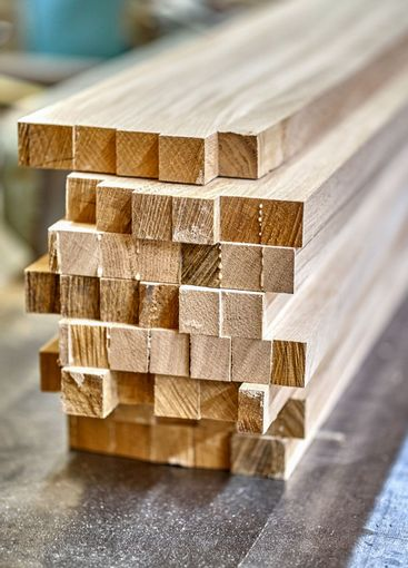 Joinery. Wooden edge-glued panels. Wooden furniture...