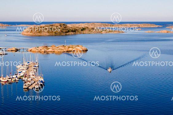 Bovallstrand harbour