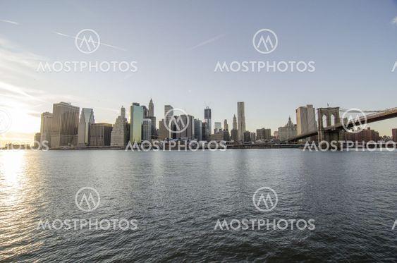Manhattan, New York City from Brooklyn