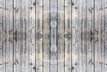 a photo of unpainted natural wooden wall of a village...