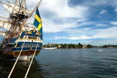 Skeppet Götheborg, Ostindiefararen