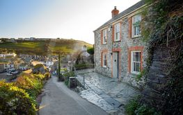 Port Isaac, a small and picturesque fishing village on...