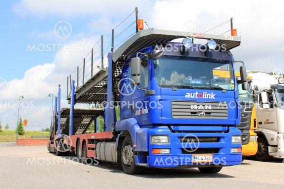 MAN TGA 18.440 Car Carrier Truck