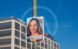 Hildegarde Bentele elected for the CDU Berlin in...