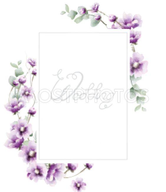 Lavender summer frame Vector watercolor card backgrounds