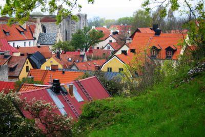 Visby Bird's Eye View