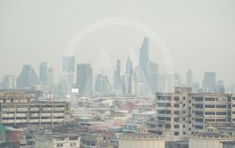 Air pollution in bangkok city
