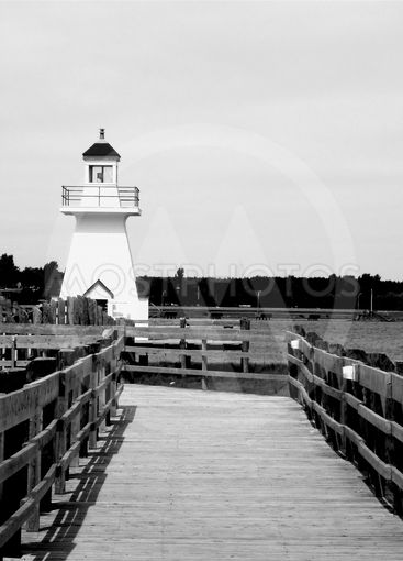 Deck leading tothe Lighthouse