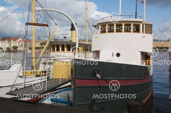 Husbåtar i Stockholm