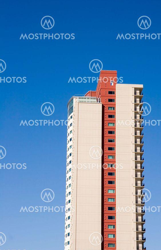 Condo Tower in Blue