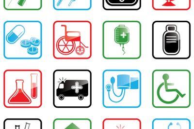 Icon set Medicine