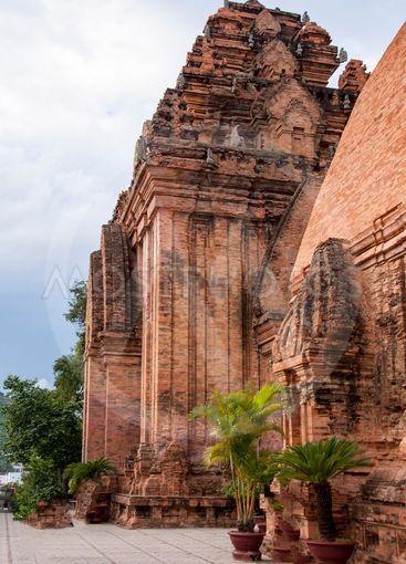 Po Nagar Cham Towers in Nha Trang Vietnam.