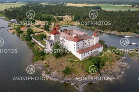 Läckö Slott vid Vänern.