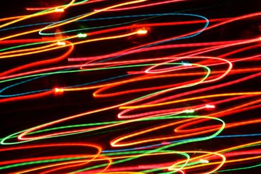 Colorful lights movement background.