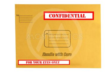 envelope that is marked confidential