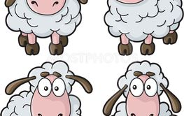 Sheep Cartoon Icons