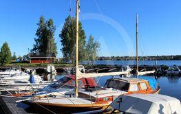Gamla Färjelägets småbåtshamn i Luleå