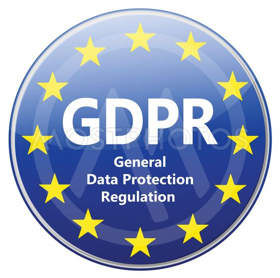 GDPR - General Data Protection Regulation. Sign with EU...