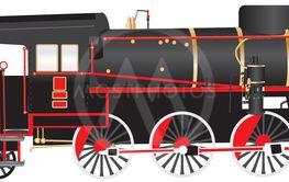 480 Steam  Locomotive