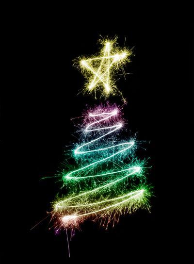 Sparkling Xmas Tree