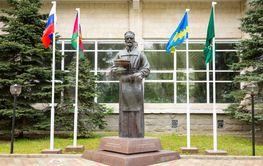 Anapa, Russia - May 13, 2019: Monument V.A. Budzinsky,...