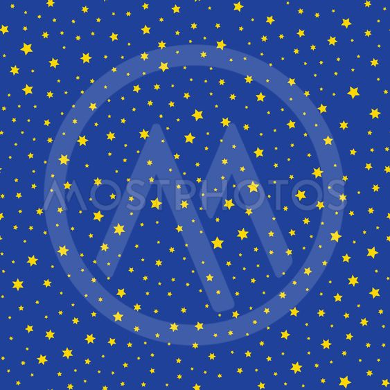 Seamless texture with decorative stars
