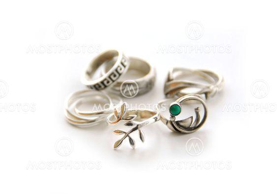 Silver ringar