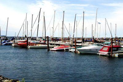 Boats Marina Panoramic View