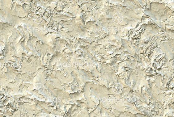 White plastered seinään