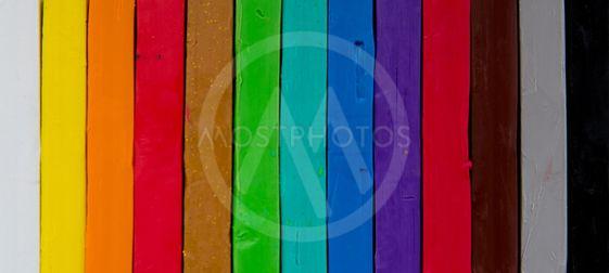 colorfull plasticine