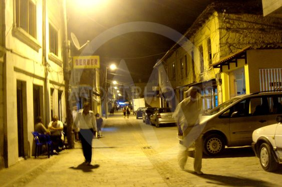 A street in Albania