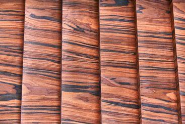 Wood veneer wall panels. Rosewood texture. Rosewood...
