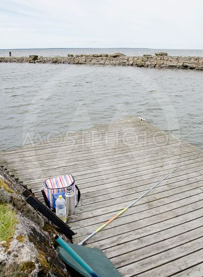 Fiske i Råbäcks hamn